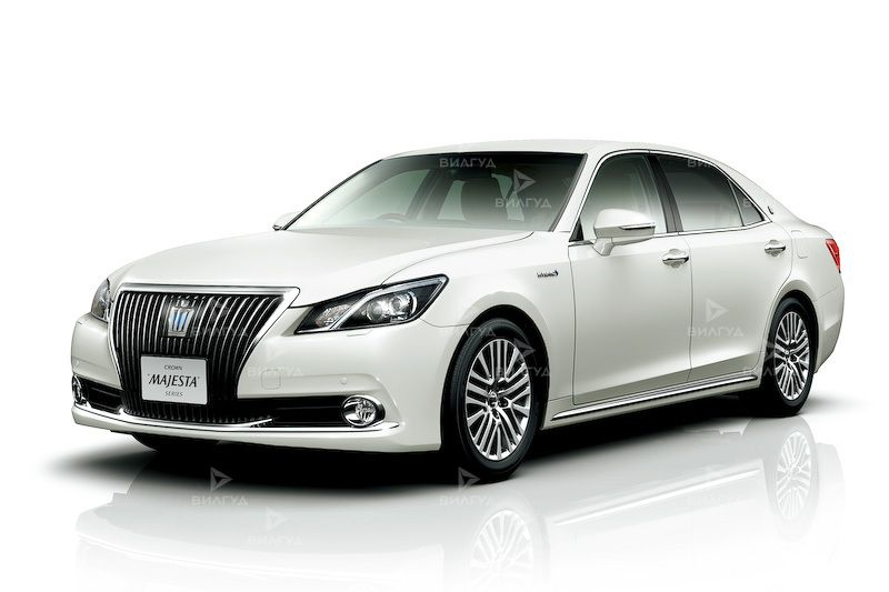 Диагностика ошибок сканером Toyota Crown Majesta в Троицке
